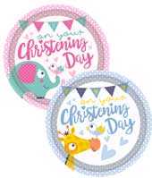 Decorations and Partyware for Babys Christening Party