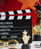 Choose party supplies by popular party themes, such as wild west, disco or hollywood party