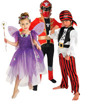 Fancy Dress Costumes for childrens dress-up, parties, school plays or just for fun!