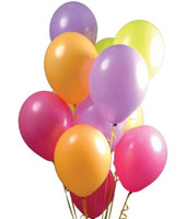Balloons, Candles, Banners, Glasses and other essential party supplies