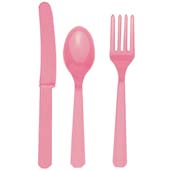 Baby Pink Cutlery Set.<p></p>